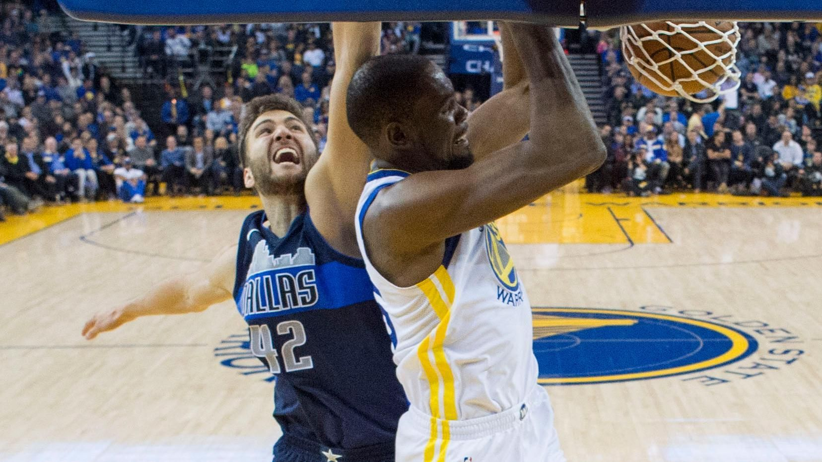 Aaron Judge loves KD's dunk