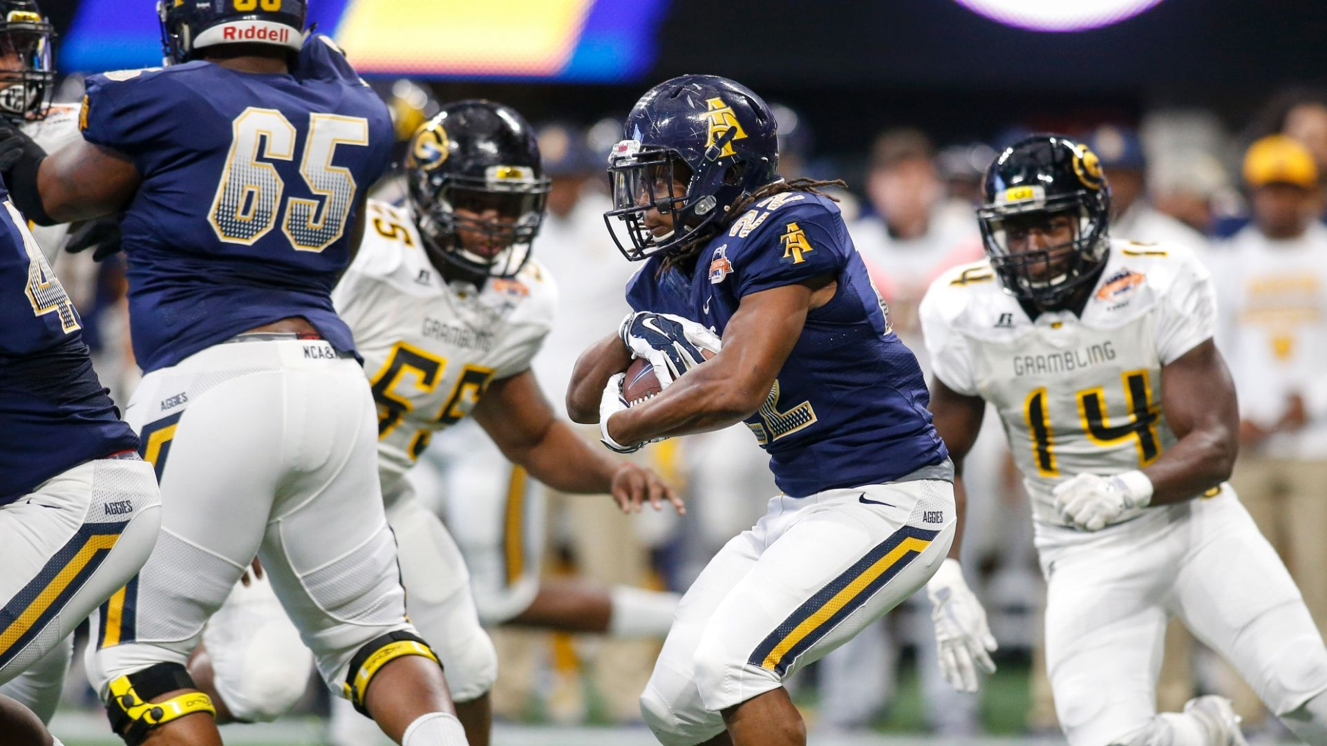 North Carolina A&T caps undefeated season with Celebration Bowl win