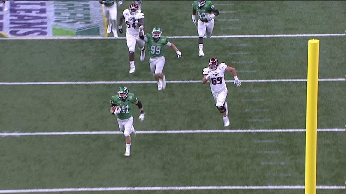 Bad snap leads to North Texas TD