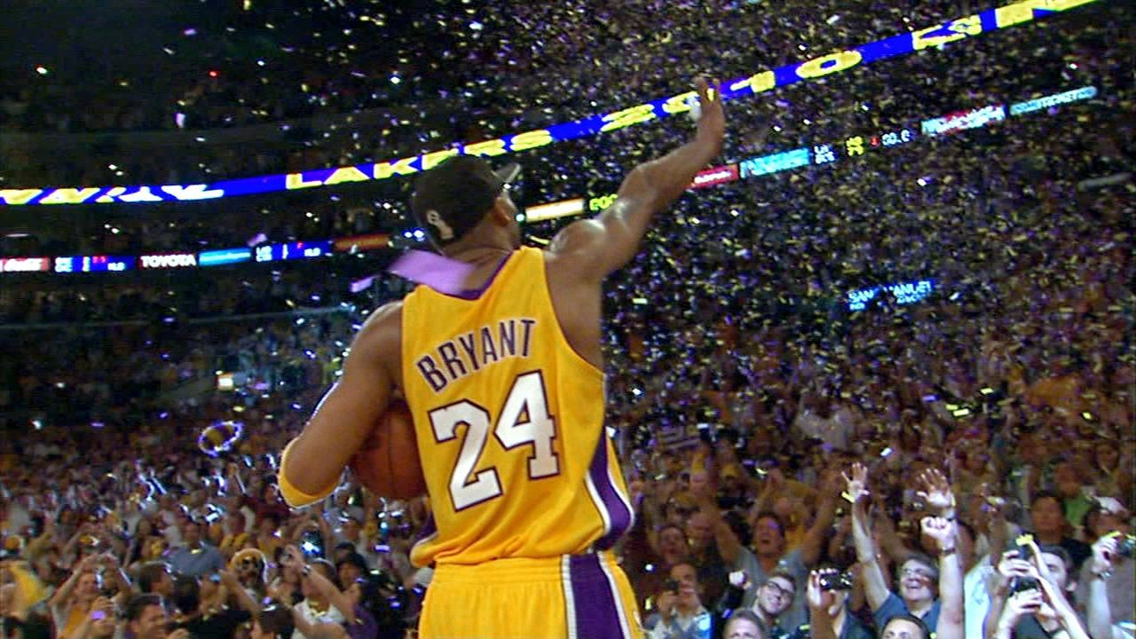 Current Lakers remember Kobe's greatness