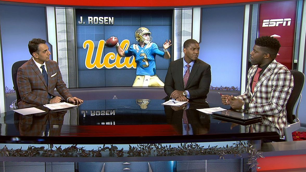 Would Rosen be playing if UCLA had a bigger game?