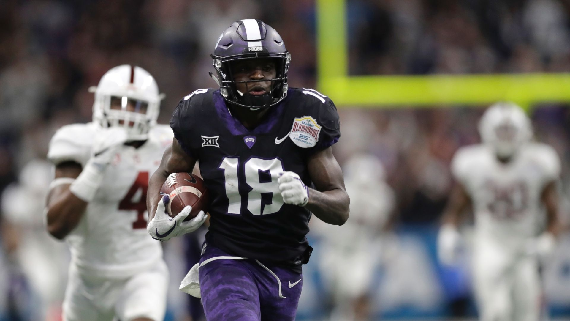 Big plays from TCU lead to upset of Stanford
