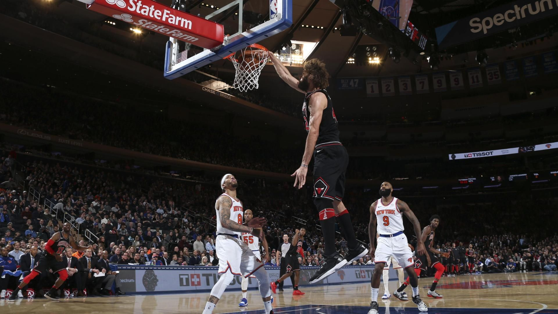 Knicks fall to Bulls in 2OT