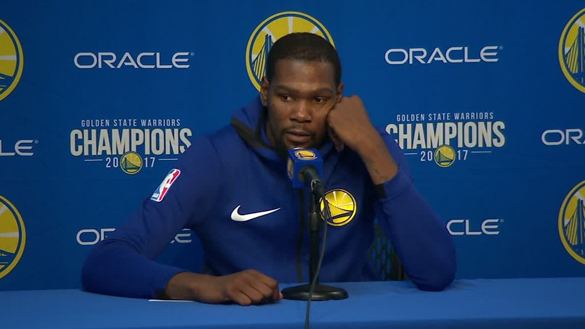 KD thanks the fans for recognizing his milestone