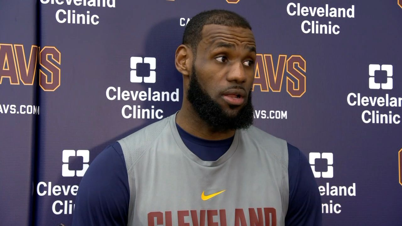 LeBron on MLK: 'We cannot allow racism to divide us'