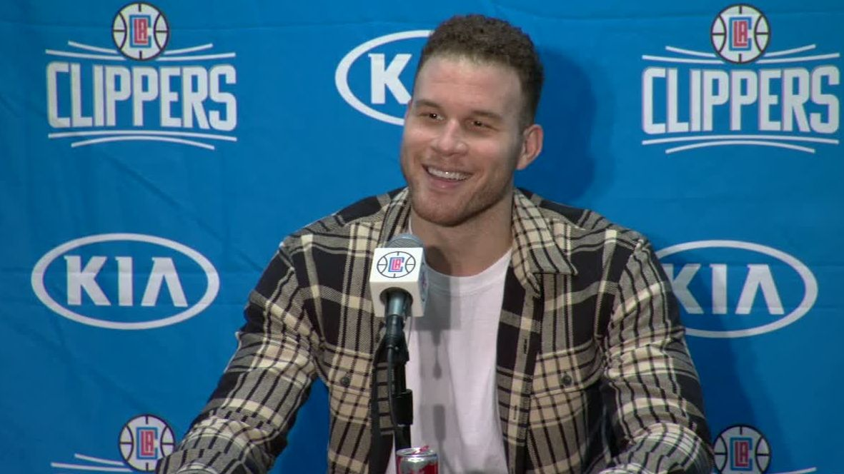 Griffin sarcastic during postgame news conference