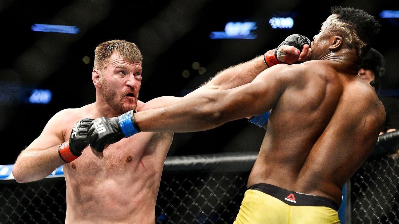 Miocic beats Ngannou for record third consecutive title defense