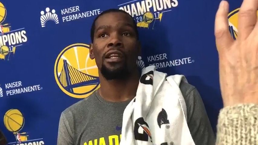 KD fires back at Capela