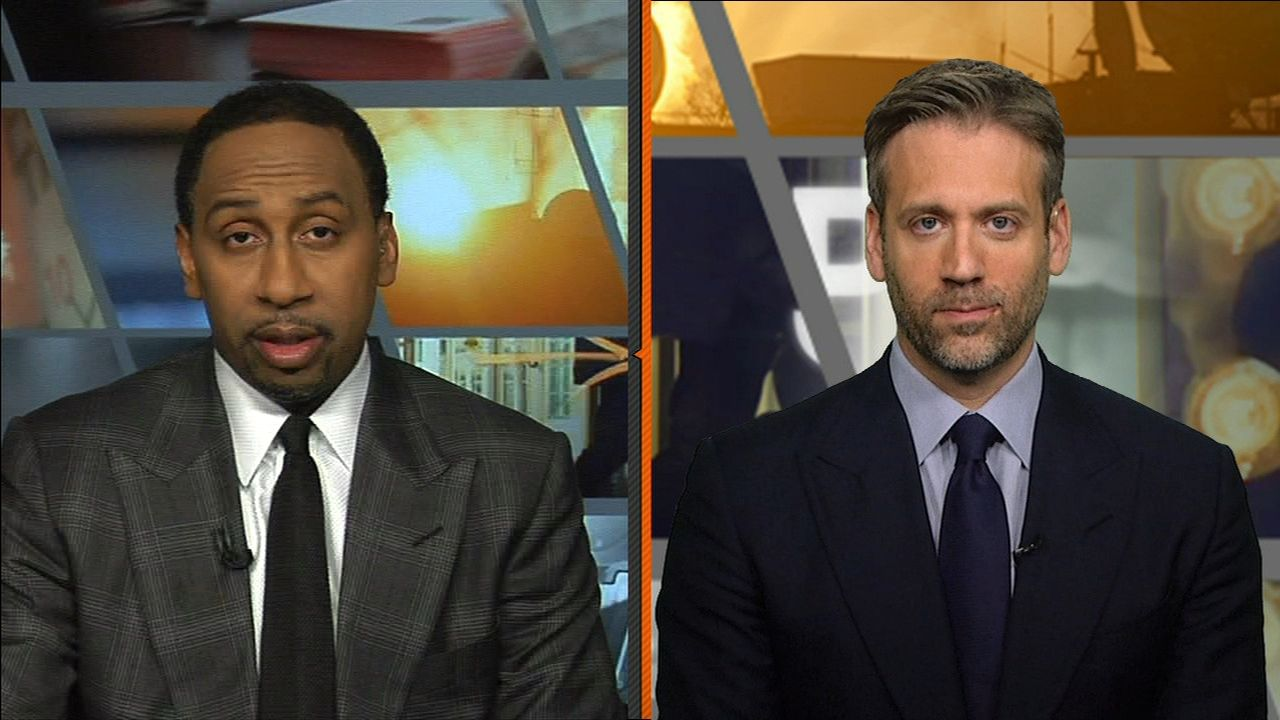 Stephen A. was expecting NFC Championship nail-biter