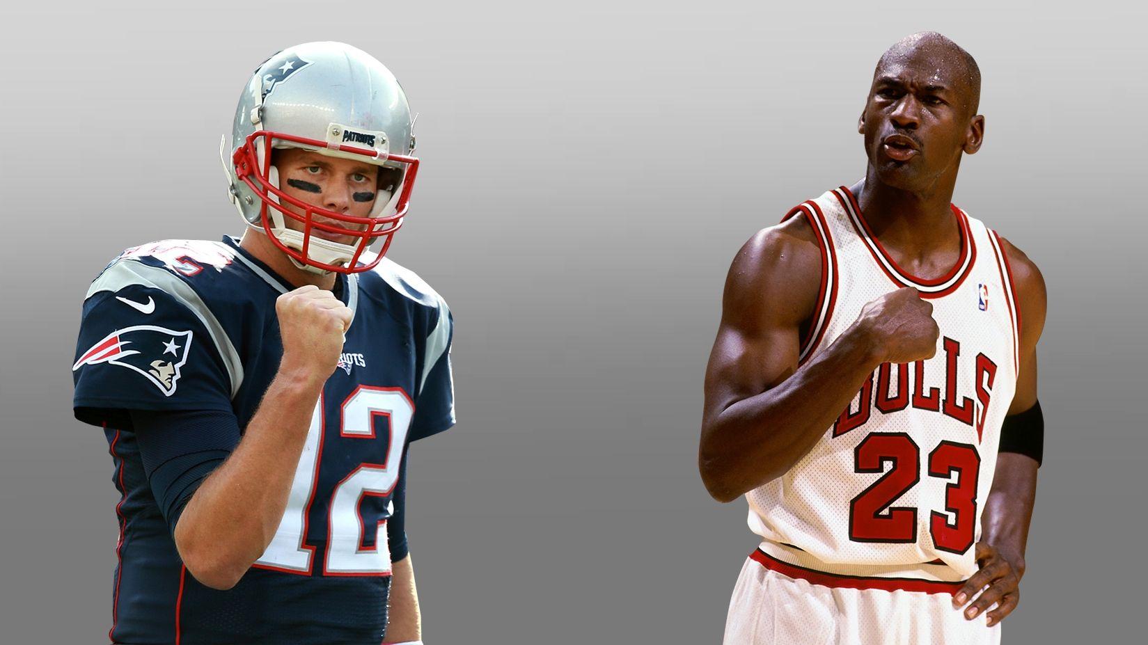 Is Brady the NFL's MJ?