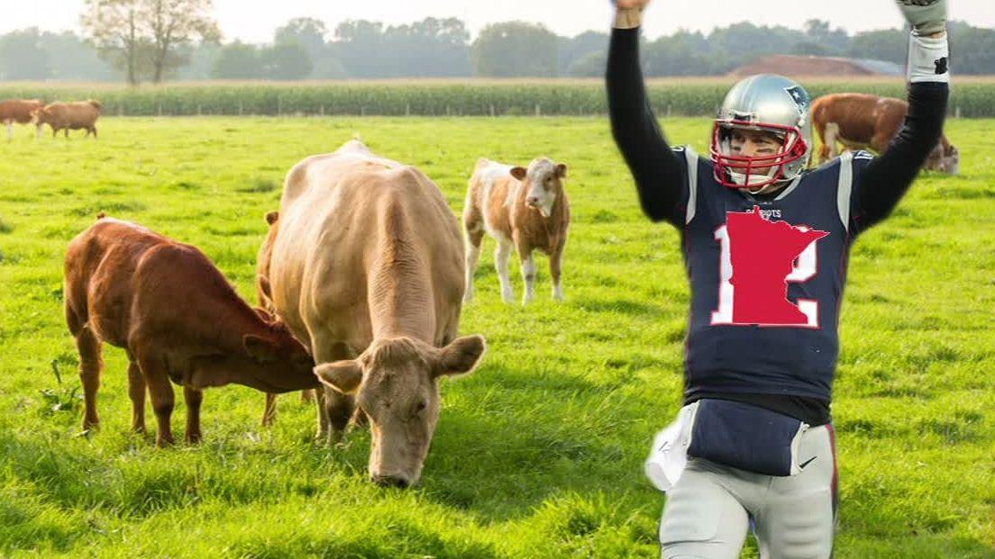 Brady a farm boy at heart