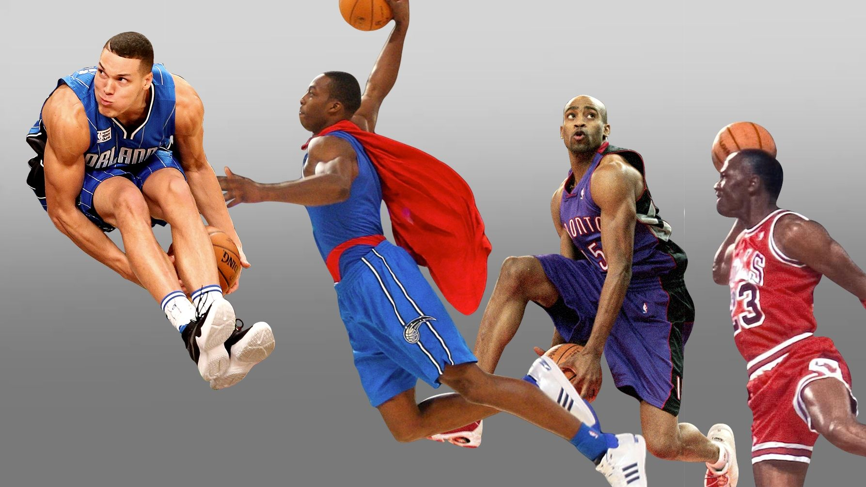 Greatest moments of the dunk contest