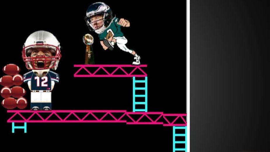 Eagles take down 'Brady Kong'