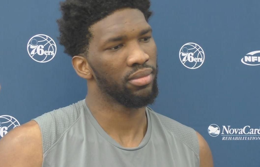 Embiid 'would have jumped over cars' at Super Bowl celebration
