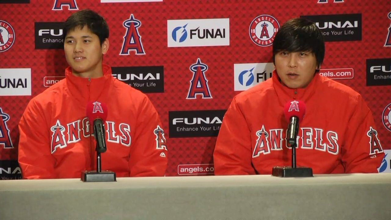 First look: Japanese star Shohei Ohtani arrives at Angels ...