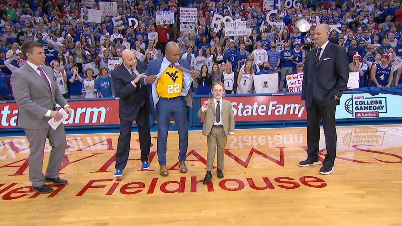 Williams, Naismith Kid make WVU-Kansas picks