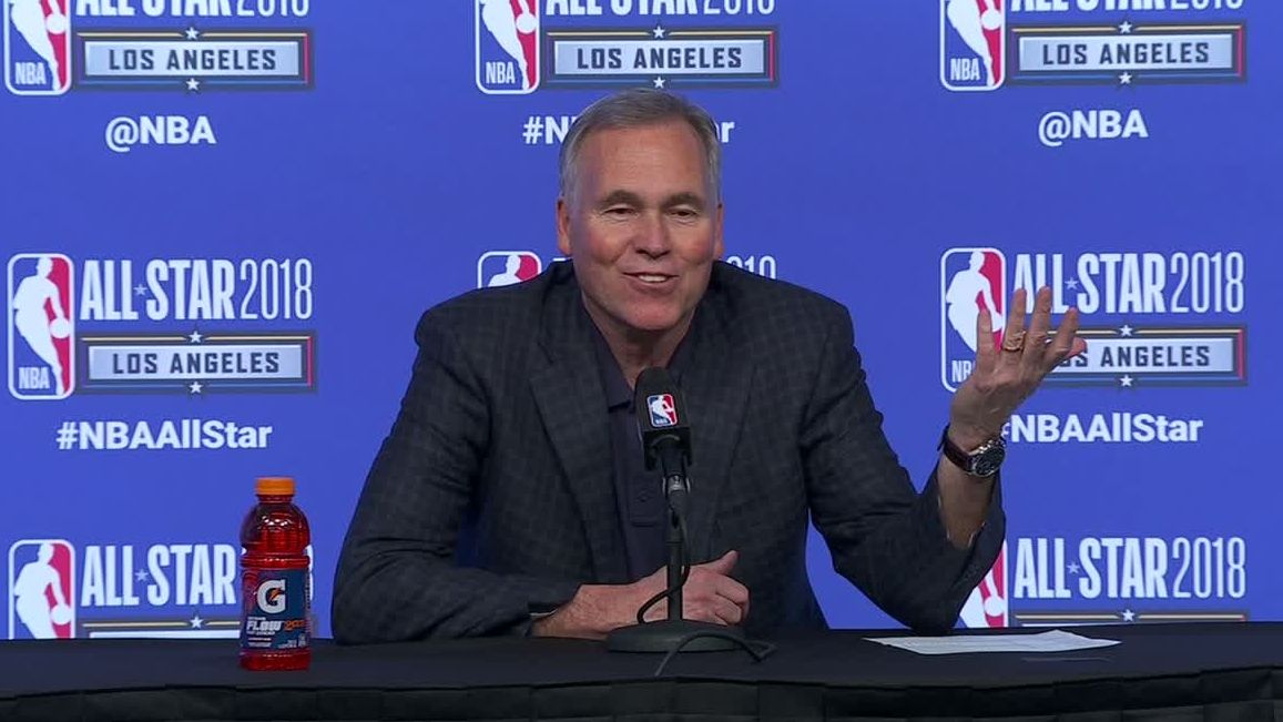 D'Antoni: 'The Golden State guys kept trying to take my clipboard'