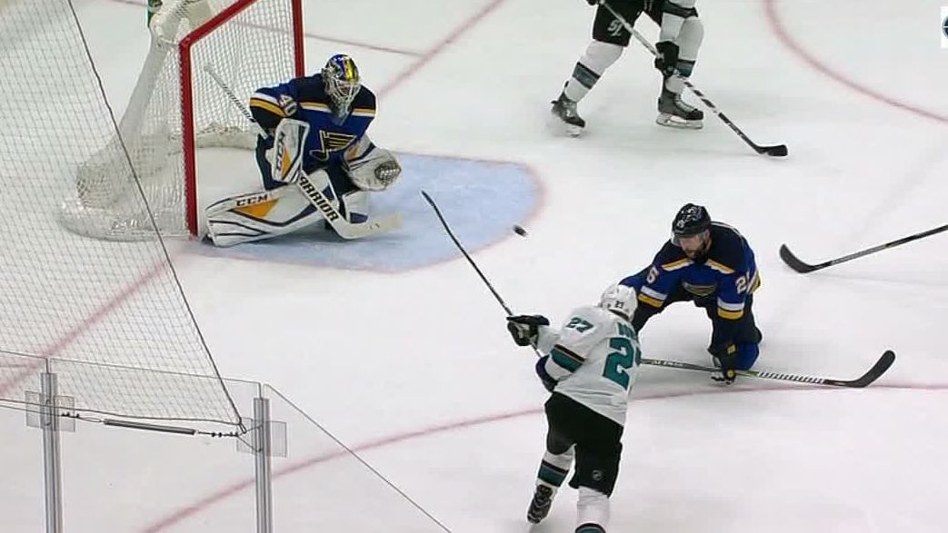 Donskoi rips one past Hutton in Sharks' win