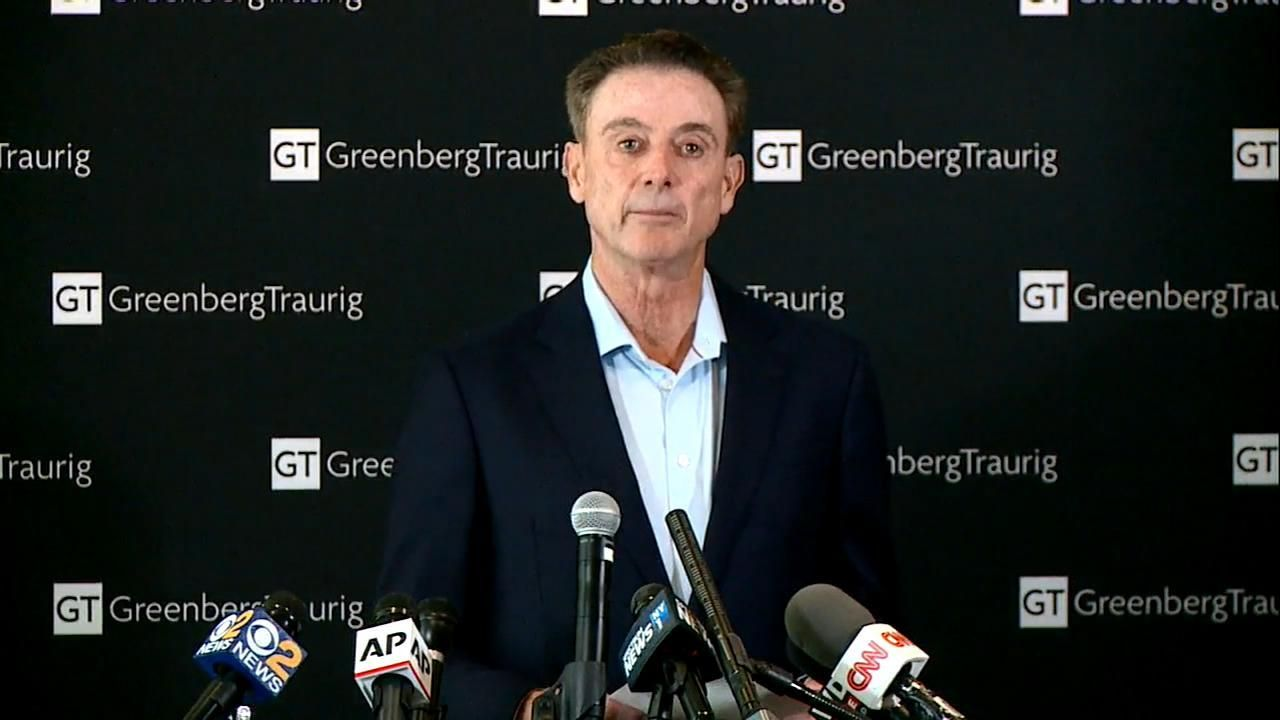 Pitino: 'The NCAA cannot rewrite history by taking a banner down'