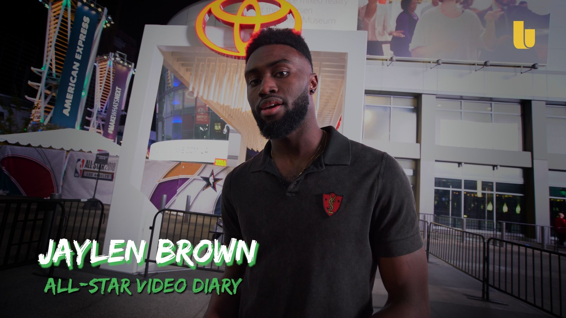 Jaylen Brown All-access: L.A. All-Star video diary