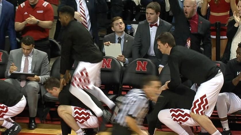 Nebraska bench brings the hijinks again