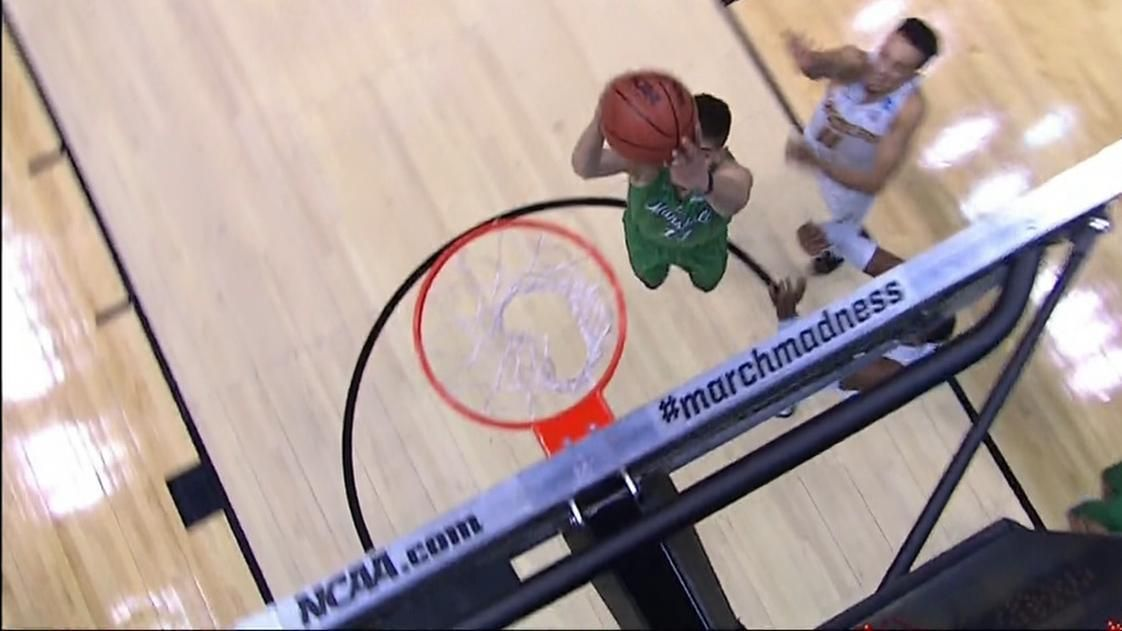 Dunk seals Marshall's upset over Wichita State