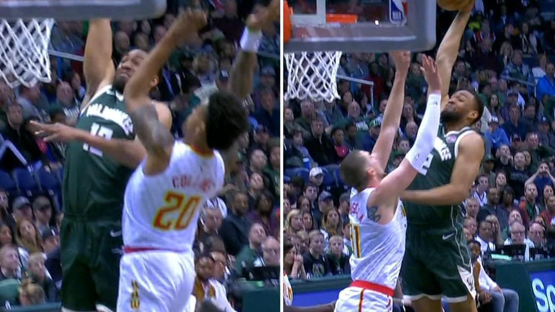 Parker stuns Hawks with two posterizing slams
