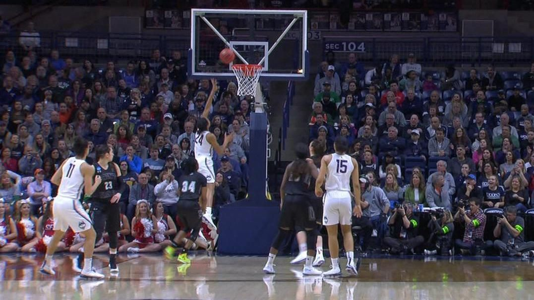 Huskies set record with 94 points in a half