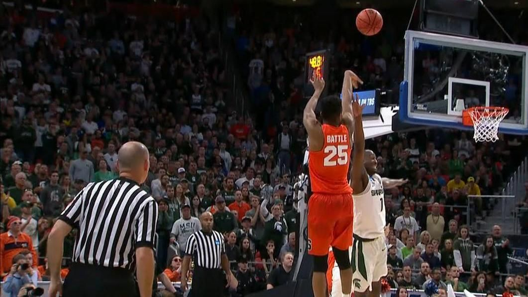 Battle hits clutch pull-up in Cuse win