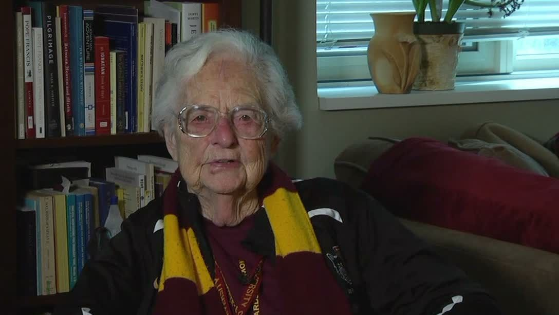 Sister Jean the Loyola-Chicago superfan