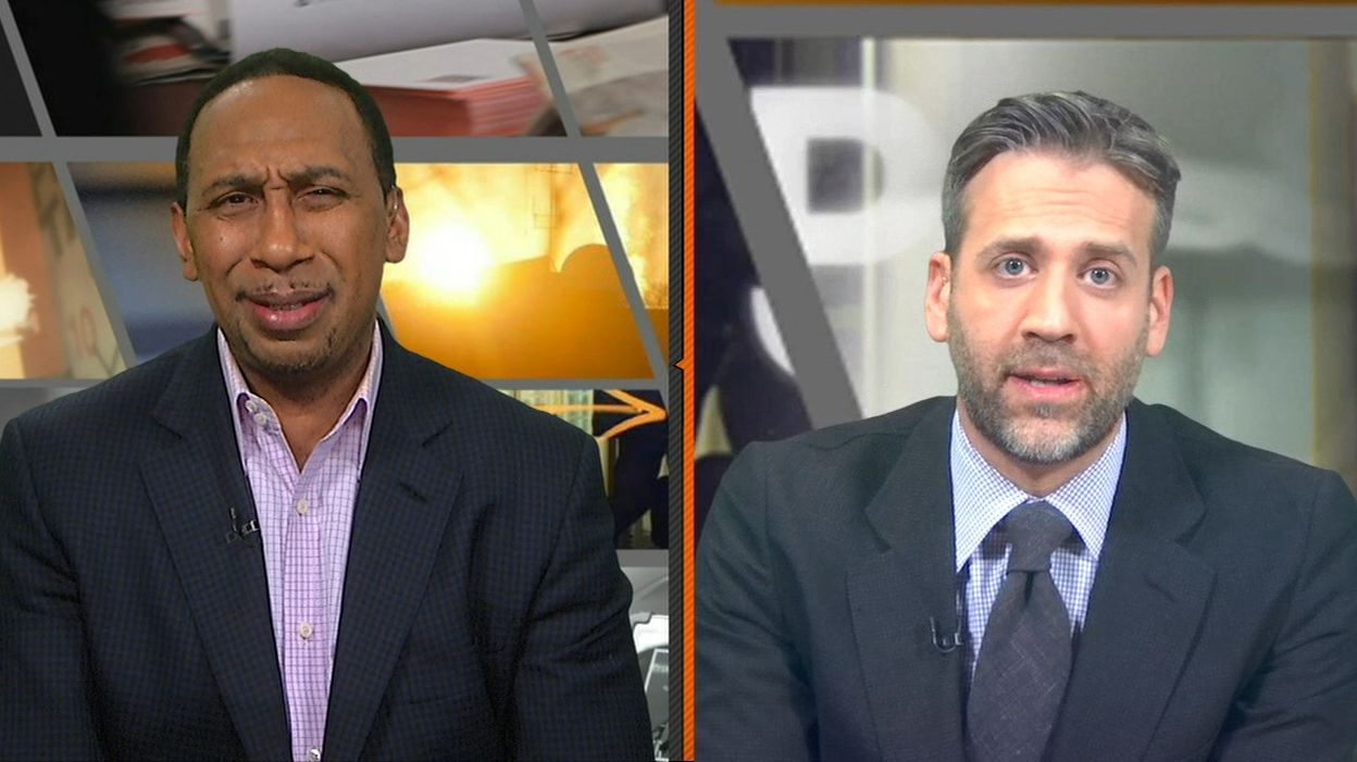 Max and Stephen A. split on LeBron, Harden for MVP