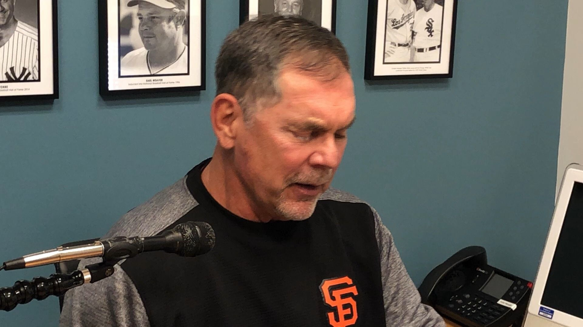 Bochy confident in offense despite low-scoring series