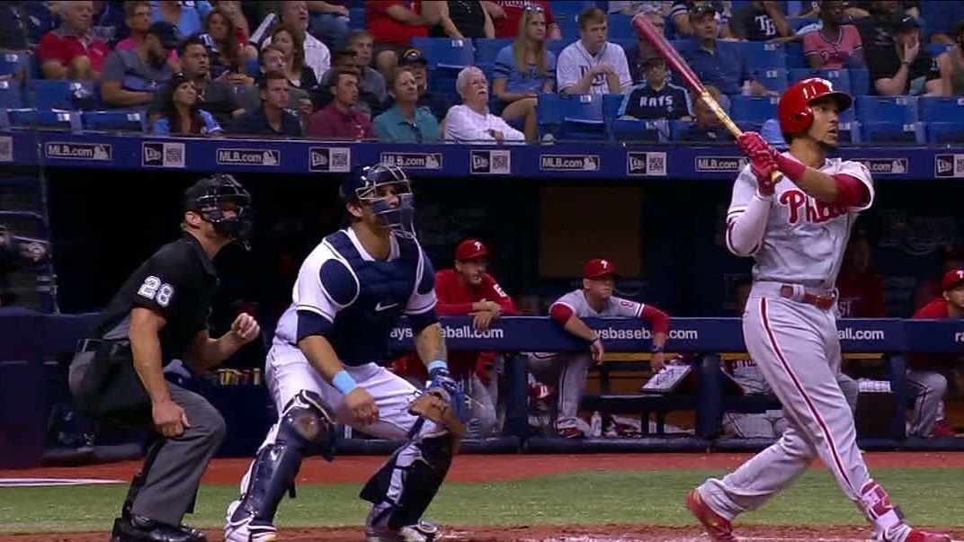 Crawford goes yard in the 4th