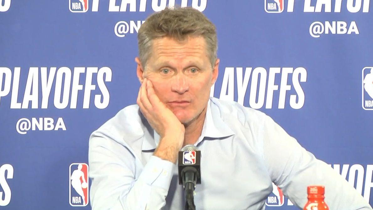 Kerr on KD running offense: 'It's not rocket science'