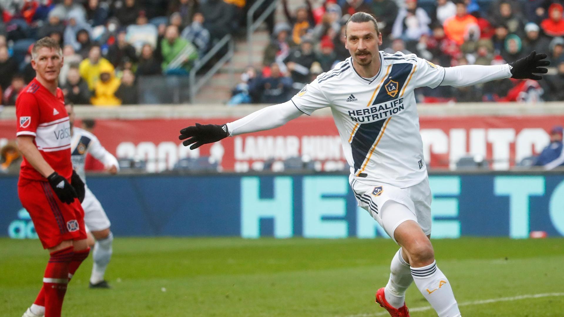 Ibrahimovic scores winner in first LA Galaxy start - Via MLS
