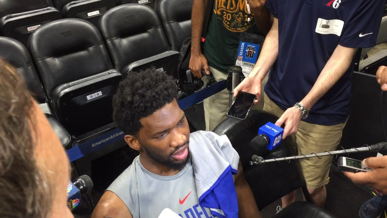 Embiid on playoffs: 'I feel like I was built for this'