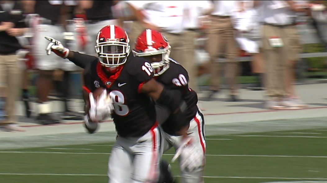 Fromm throws pick-6 to Baker