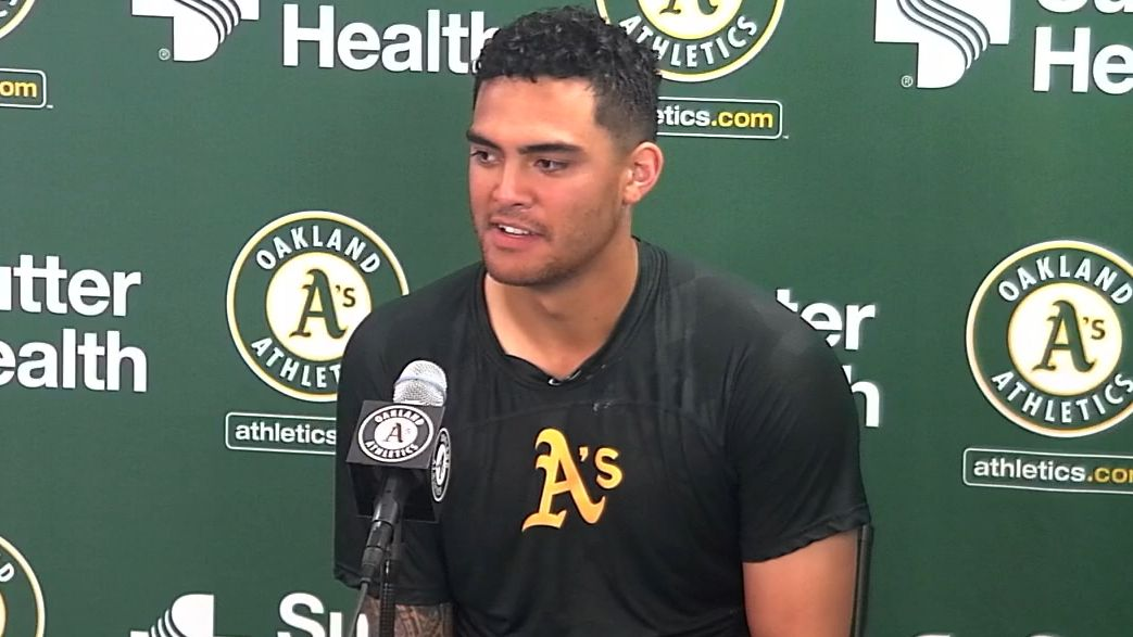 Manaea thought his no-hitter was done early