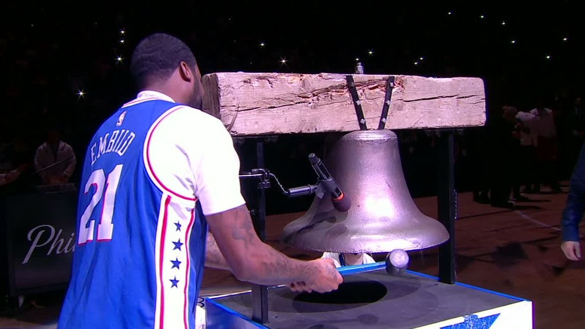 Meek Mill rings the bell
