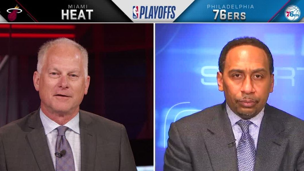 Stephen A. says Heat 'appeared to be lifeless'