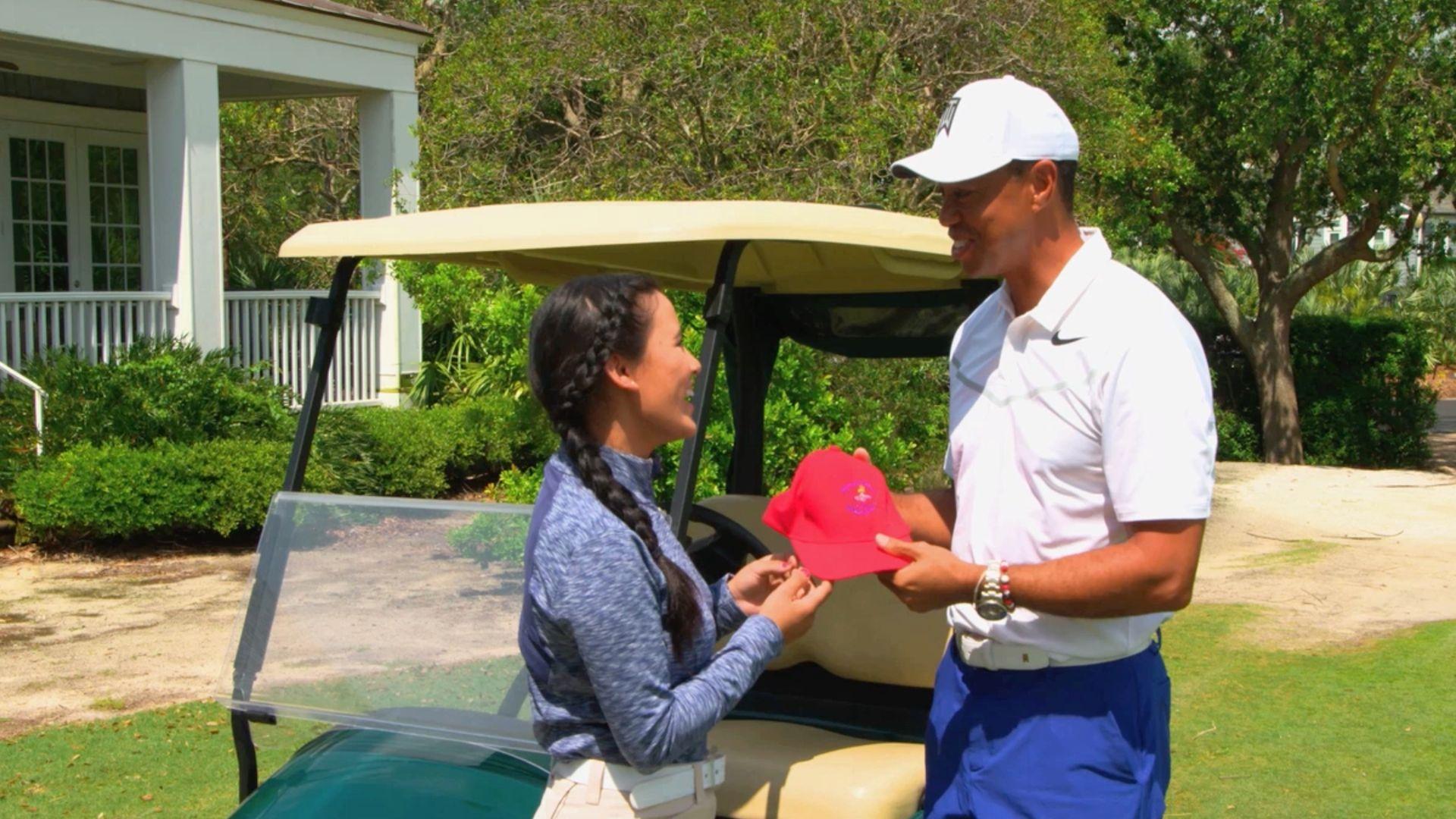 Tiger draws inspiration from Nepalese golfer Pratima Sherpa