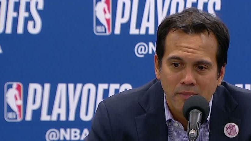 Spoelstra praises Wade's humility in return to Miami