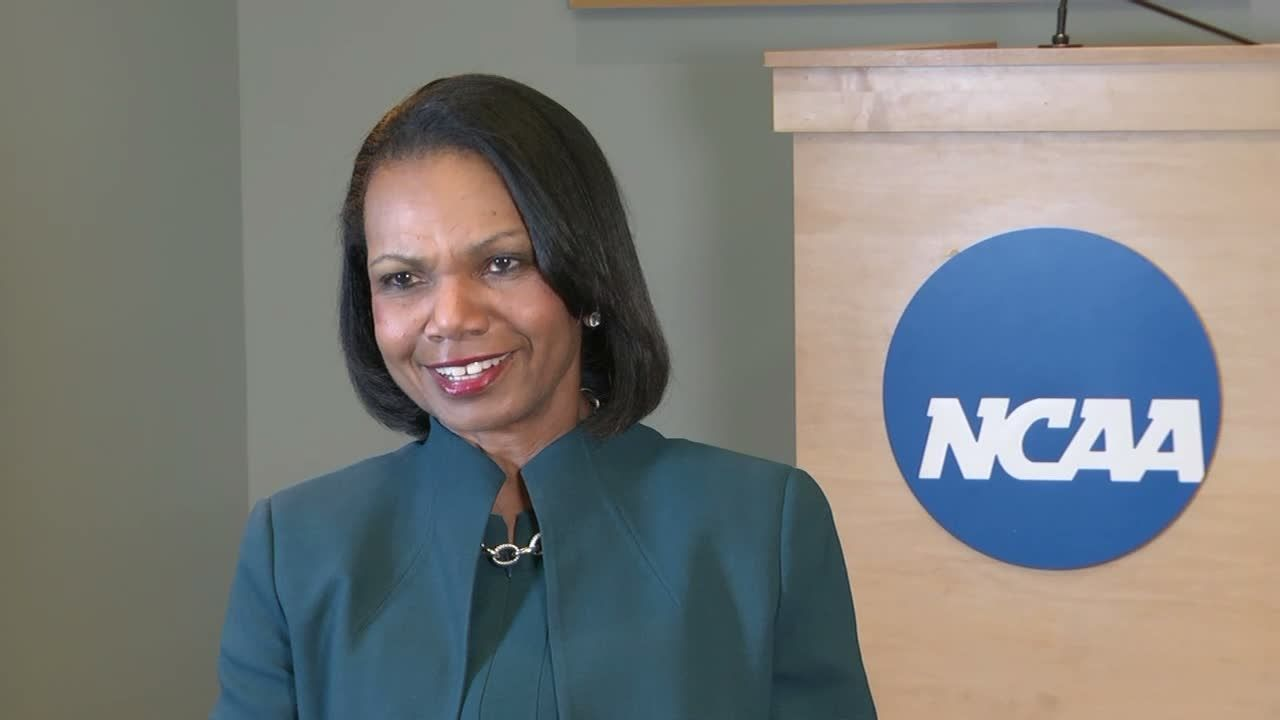 Rice sees 'tremendous' benefits from NCAA reform
