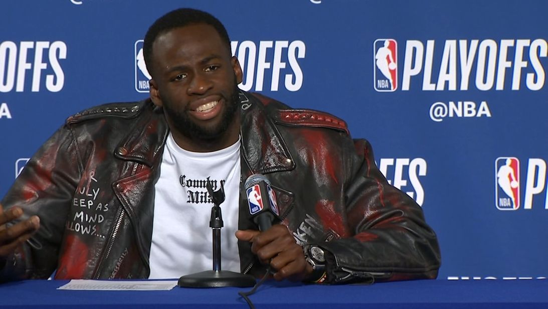 Draymond says it doesn't matter who Warriors play
