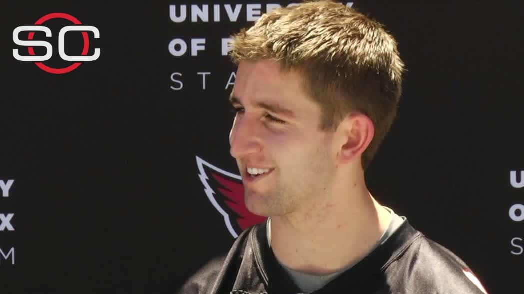Cardinals get first look at Rosen in camp