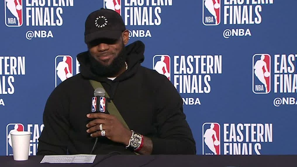 LeBron: 'Humbling' to be mentioned with the greats