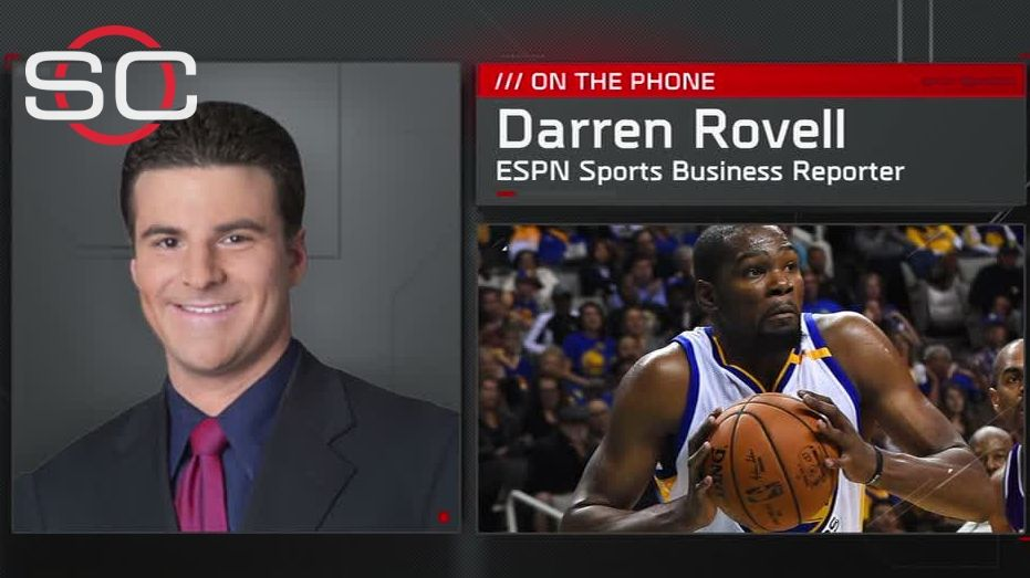 Rovell: Durant's business interests are unique