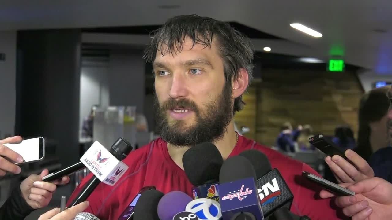 Ovechkin: You play hockey for 'this moment'