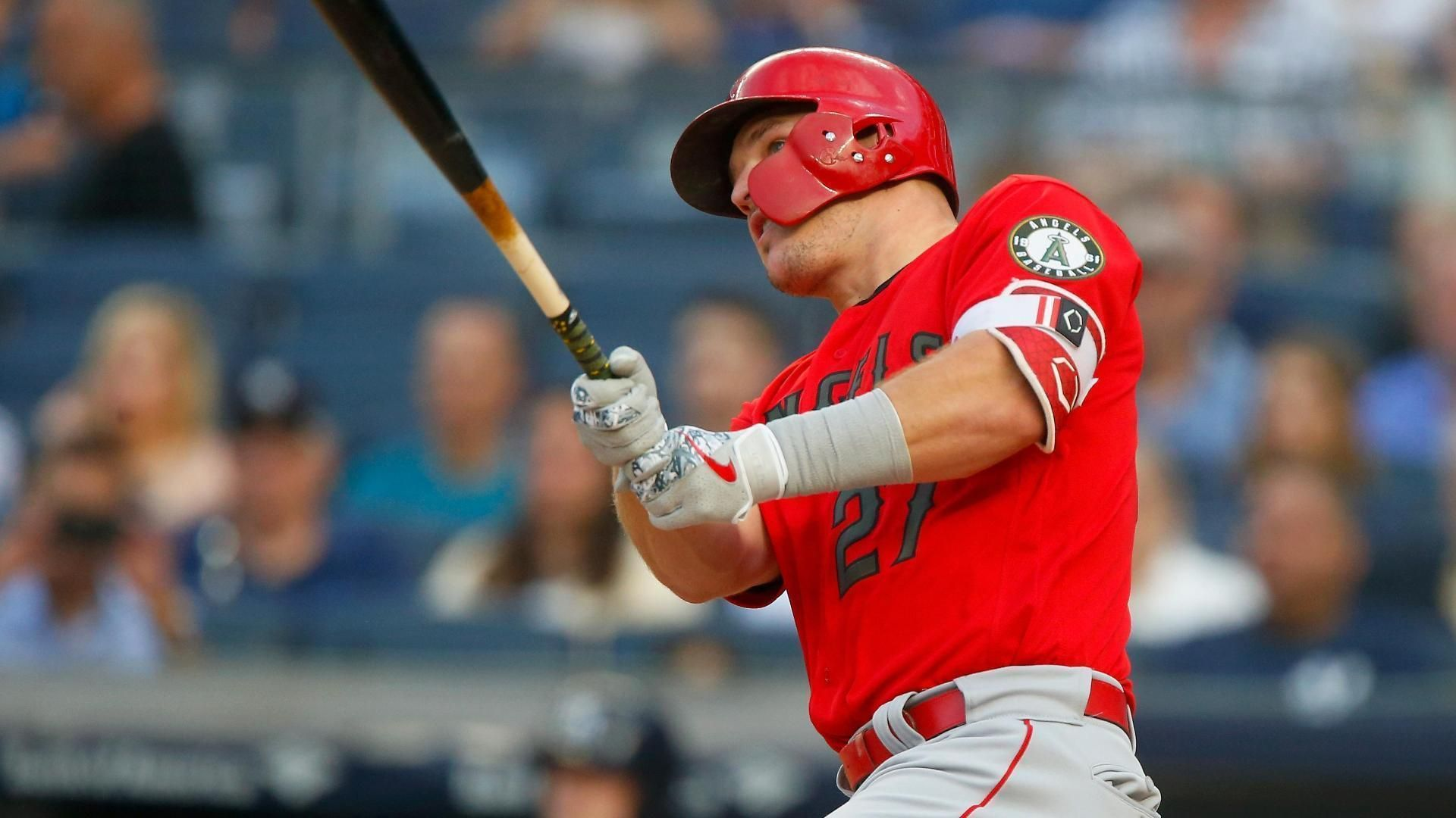 Trout torches Yanks with five hits