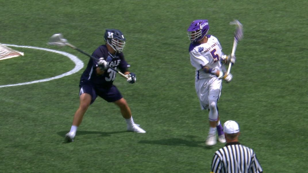 Albany scores after filthy behind-the-back pass